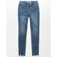 REWASH Zip Front Girls Skinny Jeans