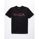 RVCA Blinded Black Boys T-Shirt