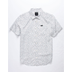 RVCA Fiscus Floral White Boys Shirt