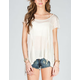 TRESICS Draped Womens Tee