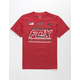 FOX Jetskee Red Boys T-Shirt