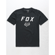 FOX Legacy Moth Black Boys T-Shirt