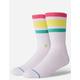 STANCE Boyd 4 White & Neon Mens Socks