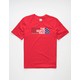 THE NORTH FACE Americana Red Boys T-Shirt
