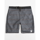 HURLEY Shoreline Black Boys Boardshorts