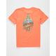 QUIKSILVER Tattered Orange Boys T-Shirt