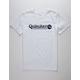 QUIKSILVER Art Tickle White Boys T-Shirt