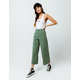 RVCA Niku High Waist Cropped Womens Trouser Pants