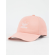 ADIDAS Originals Relaxed Outline Dust Pink Womens Strapback Hat