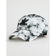 ADIDAS Originals Relaxed Tie Dye Black & White Womens Strapback Hat