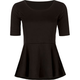 TRESICS Womens Peplum Top