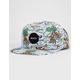 RVCA Island Print Mens Snapback Hat