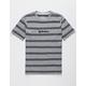 QUIKSILVER Wet Spark Gray Boys T-Shirt