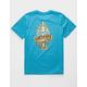 QUIKSILVER Tattered Blue Boys T-Shirt