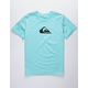 QUIKSILVER MW Logo Aqua Boys T-Shirt