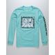 QUIKSILVER Stormy Rider Aqua Boys T-Shirt