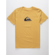 QUIKSILVER MW Logo Mustard Boys T-Shirt