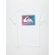 QUIKSILVER Time Warp White Boys T-Shirt