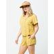 BILLABONG Waves All Day Yellow Womens Shorts
