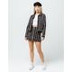 VOLCOM Frochickie Stripe Mini Skirt