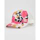 BILLABONG Shenanigans Pink Girls Trucker Hat