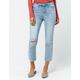 IVY & MAIN Crop Light Blast Womens Straight Leg Jeans