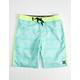 HURLEY Shoreline Turquoise Boys Boardshorts