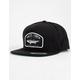 SALTY CREW Striper Black Mens Snapback Hat