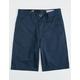 VOLCOM Frickin Chino Service Blue Boys Shorts