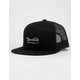 BRIXTON Grade Black Mens Trucker Hat
