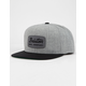 BRIXTON Jolt Gray Mens Snapback Hat
