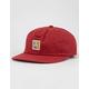 BRIXTON Damsel LP Burgundy Mens Strapback Hat