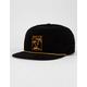 BRIXTON Stranded Black Mens Strapback Hat