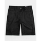 VOLCOM Frickin Chino Black Boys Shorts