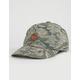 BRIXTON Wheeler Tiger Camo Mens Strapback Hat