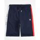 FILA Logo Navy Boys Sweat Shorts