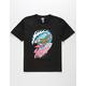 SANTA CRUZ Wave Slasher Black Boys T-Shirt