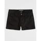 RSQ Malibu Black Girls Denim Shorts