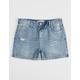 RSQ Paris Girlfriend Girls Ripped Denim Shorts