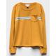 FULL TILT Patch Pocket Girls Sweatshirt