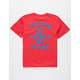 VOLCOM Big Outline Red Boys T-Shirt