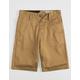 VOLCOM Frickin Chino Dark Khaki Boys Shorts