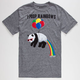 RIOT SOCIETY I Poop Rainbows Mens T-Shirt
