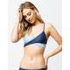 FULL TILT Wrap Bralette Blue Bikini Top