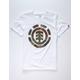 ELEMENT Foundation Icon White Boys T-Shirt