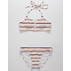 FULL TILT Stripe Girls Bikini Set