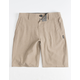 O'NEILL Reserve Heather Khaki Boys Hybrid Shorts