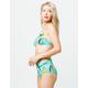 EIDON Hailey Caribe High Waisted Bikini Bottoms