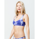 DIPPIN' DAISY'S Baja Tie Dye Bikini Top