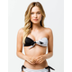 ROXY Summer Delight Black & White Bandeau Bikini Top